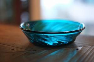 【倉敷ガラス・小谷栄次】◆◆◆切立ち鉢◆◆◆小谷ブルー◆◆◆