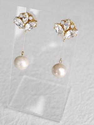 Swing Pearl【14kgfピアス・クリップイヤリング】