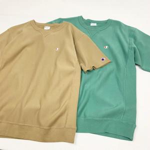 Champion / Reverse Weave Half Sleeve Crew Neck Sweatshirt