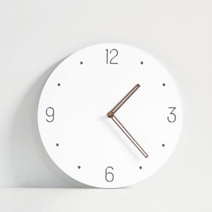 simple wall clock A 6types / 無地 シンプル ウォールクロック 壁掛け時計 韓国 インテリア 雑貨