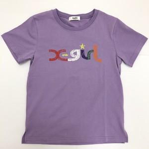 x-girl エックスガール 9211207-43  ラクガキカラフルロゴTシャツ