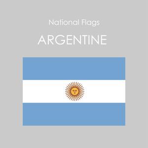国旗ステッカー アルゼンチン