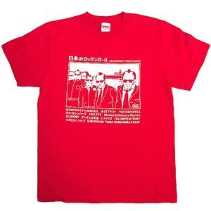 DR.フィールグッド・トリビュートアルバム Tシャツ(レッド)