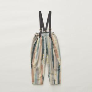 eLfinFolk  Crambon stripe suspenders pants (pale pink) 100 110 120 130  elf-212F04 ※1点までメール便OK