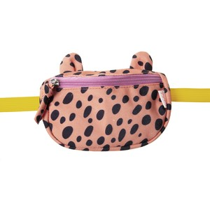 G1373C Cheetah Bum Bag Coral