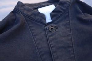 edit clothing  Washed cotton JK(ウォッシュドコットンジャケット/バイオブラック)