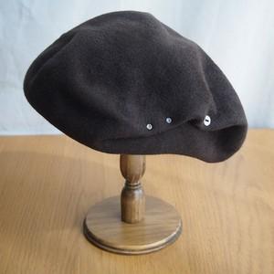 Salty beret/ブラウン