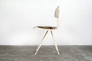 "Friso Kramer ""Result"" Chair 1960年代  白ペイント"