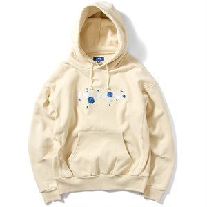 【Lafayette】ROSE LOGO US COTTON HOODED SWEATSHIRT - NATURAL