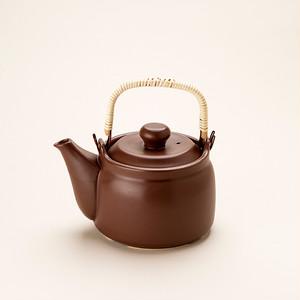 けんこう土瓶 大サイズ 茶色