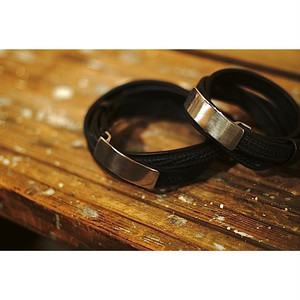 【再入荷】 SILVER BUCKLE LEATHER BELT SQUARE