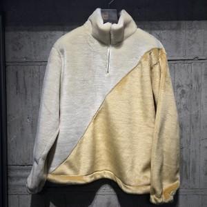 【EFILEVOL】Changeover pullover Eco fur blouson