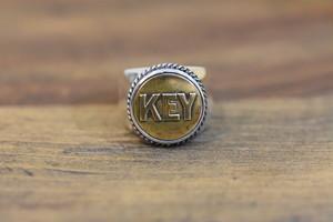 19号BUTTON WORKS x LARRY SMITH WORK Button Ring #7