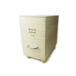 木製米櫃 技物専科・米びつ10kg用 199050-1709