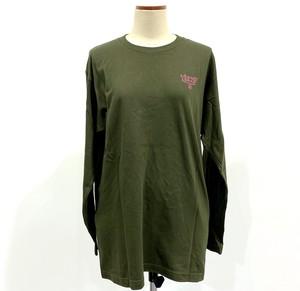 【カネコアツシ】BAMBi 発砲プリントロングスリーブTシャツ