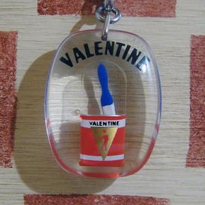 フランス VALENTINE[バレンタイン]塗料メーカーペンキ缶 動くブルボンキーホルダー
