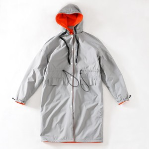 LOOT FOREVER TWO FACE COAT(SILVER×ORG)