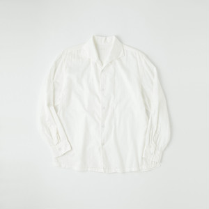 蒼氓シャツ/ Type AONE PEACE COLLAR [WHITE]