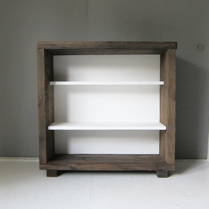recycle wood cupboard