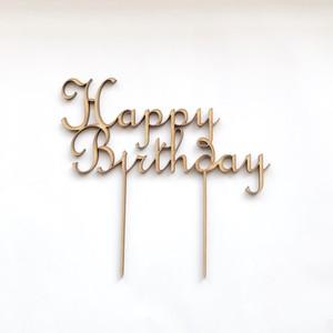 ケーキトッパー【Happy Birthday】
