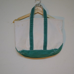 L.L.Bean 1980's BOAT&TOTE CANVAS BAG
