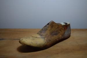 アンティーク 靴 木型/WOODEN SHOE MOLD(3133)