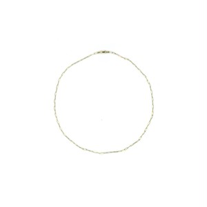 【14K-3-5】18inch 14K real gold chain necklace