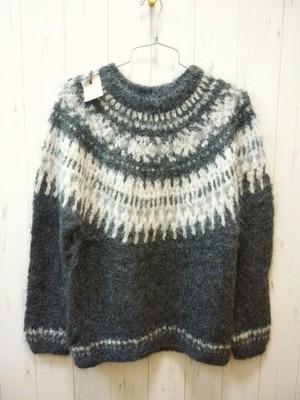 SALE!! Suri Alpaca Ladies Sweater/Peru Knit (スリアルパカ レディス セーター/球芯柄)