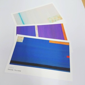 ウミウシシリーズポストカード 3枚セット ANNA・KAGUYA・SHIRO