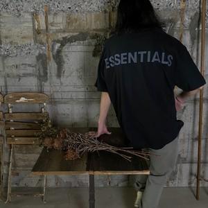 ESSENTIALS【エッセンシャルズ】3M Boxy T-shirt (BLACK).