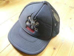 US製 希少 ビンテージ POWELL パウエル ラットボーンズ BONES CAP / 80s 90s OLD