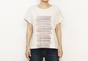マンガナイトオリジナル 仙花紙ドルマンTシャツ(Ladies')