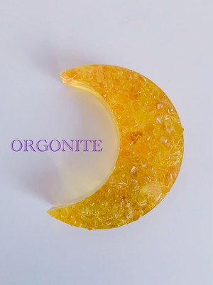 月のオルゴナイト・太(シトリン)