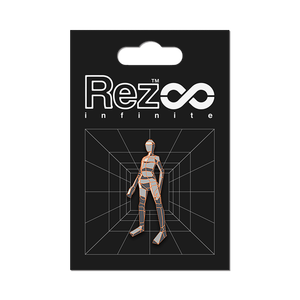 【Rez Infinite】ピンバッジ(Level 03 Player Form)