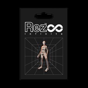 【Rez Infinite】ピンバッジ(Level 03 Player Form)