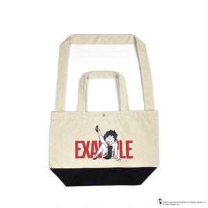 EXAMPLE x BETTY BOOP 2WAY BAG / WHITE x BLACK