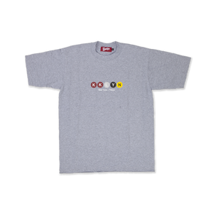 "Logo T-Shirt ""New York metro"" - Gray"