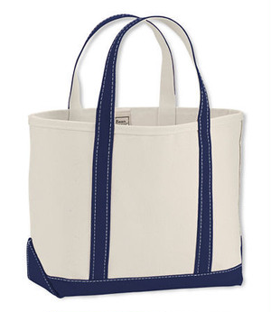 Boat & Tote Bag - Open Top -small / blue