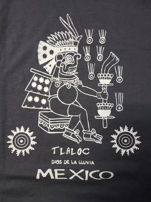 45  メキシコ製Tシャツ Lサイズ  アステカ柄