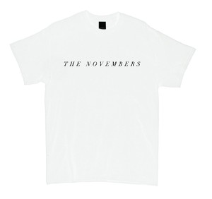 """THE NOVEMBERS"" Cut-sew (White / MERZ-161)"