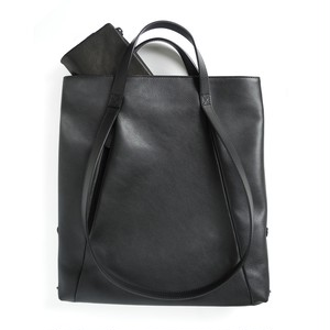 191ABG03 Leather small tote 'loop handle'  トートバッグ