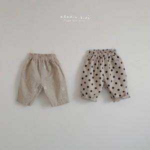 『翌朝発送』beige pants〈aladin kids〉
