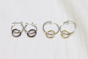 men's bicolor hoop