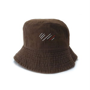 scar ///// Blood Bucket Hat (Dark Brown)