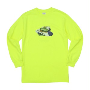 WHIMSY / POISON L/S TEE -SAFETY GREEN-