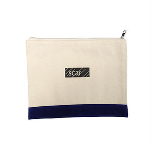 scar /////// BLACKBOX TOOL POUCH (Large) (Natural / Navy)