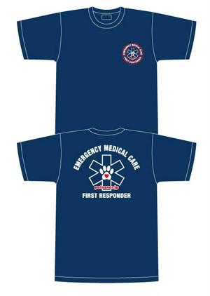 ペットセーバー 救急隊員エアライドTシャツ(First Responder) サイズ L