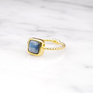 SINGLE MINI STONE RING GOLD 083
