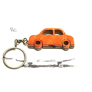 Mad Wood / Pattern Key Holder Cars