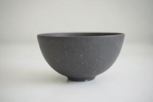小林耶摩人 ボウルSS(4寸)黒釉